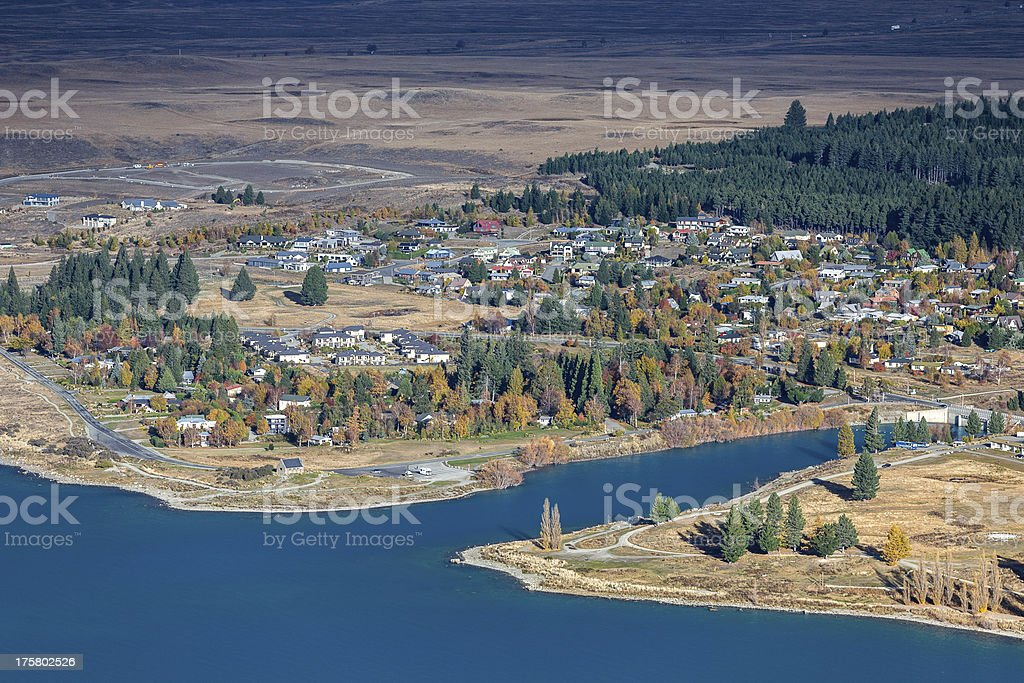 Lake Tekapo royalty-free stock photo