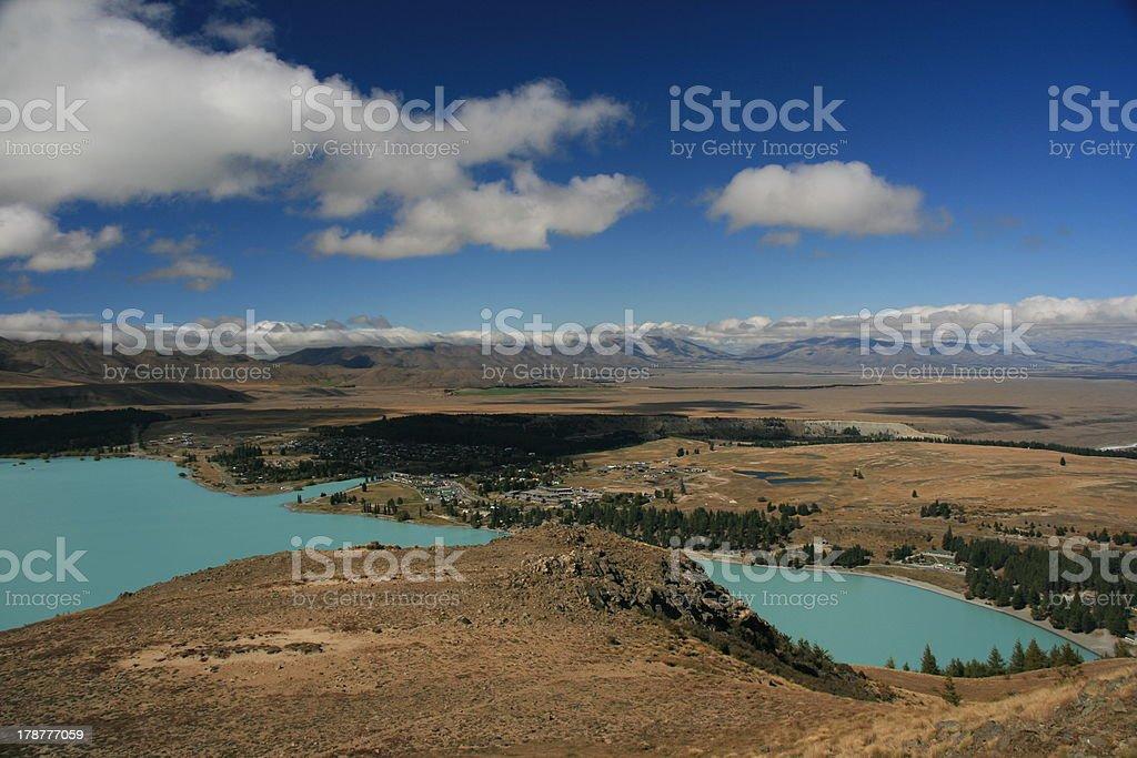 Lake Tekapo royalty-free stock photo