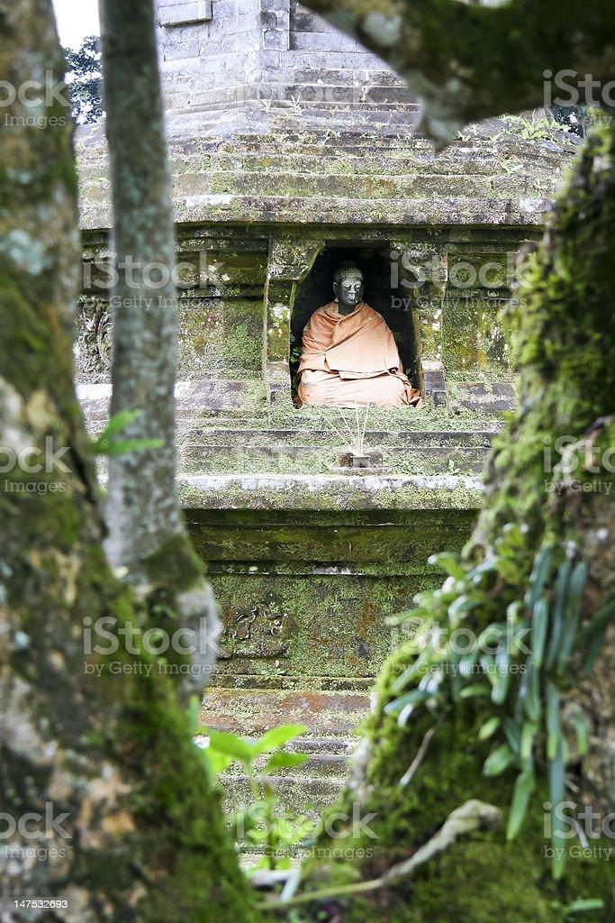 lake temple buddha bali indonesia royalty-free stock photo