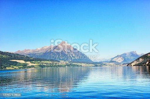 istock Lake Thun, Switzerland 1220712804