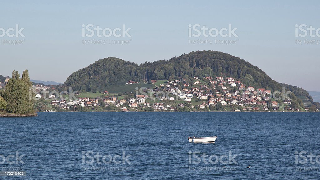 Thunersee, Switzerland royalty-free stock photo