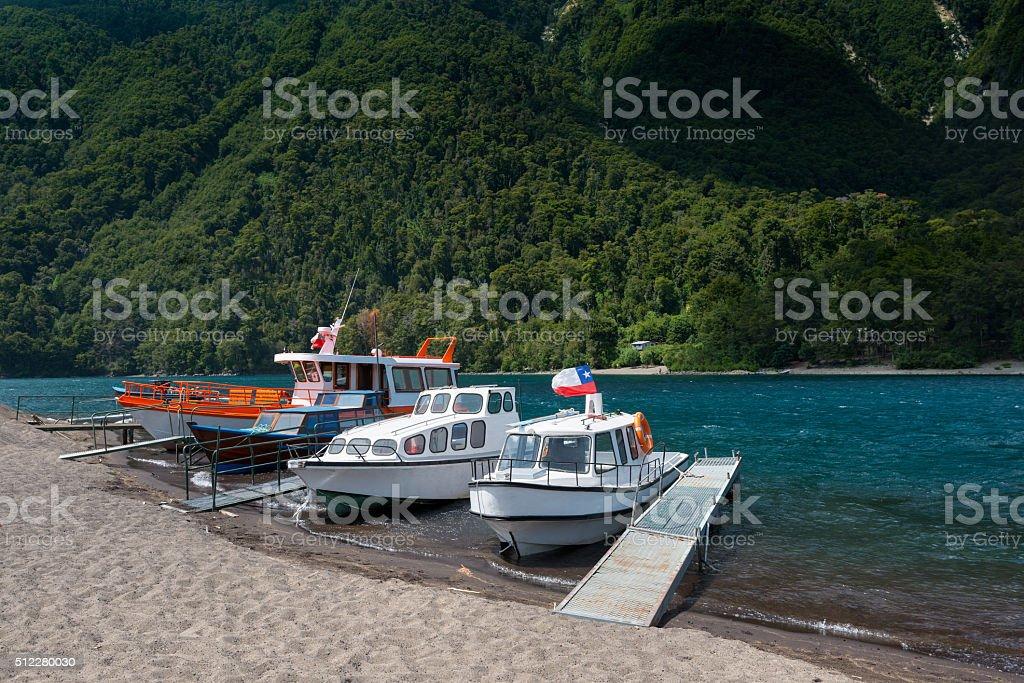 Lake Todos Los Santos stock photo