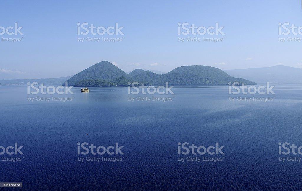 Lago Toya foto stock royalty-free