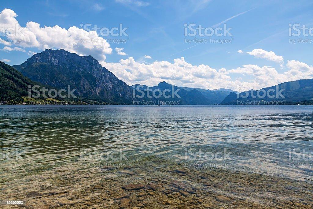 Lake Traunsee Lizenzfreies stock-foto