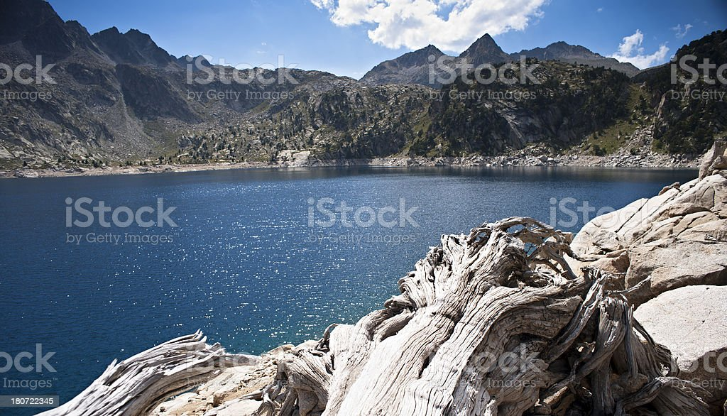 Lake Trullo royalty-free stock photo