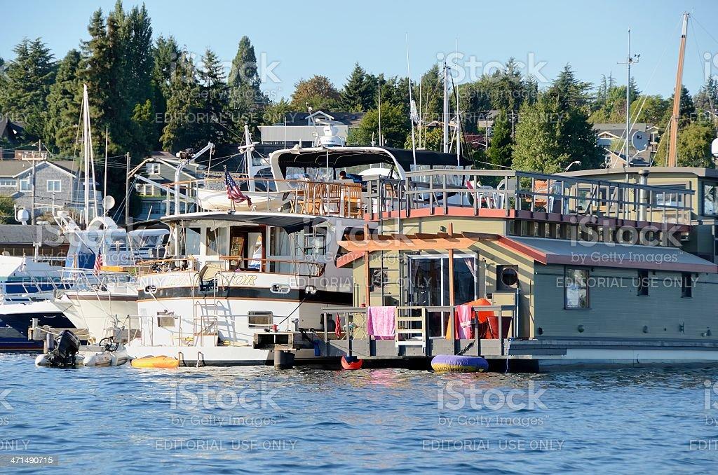 Lake Union, Seattle royalty-free stock photo