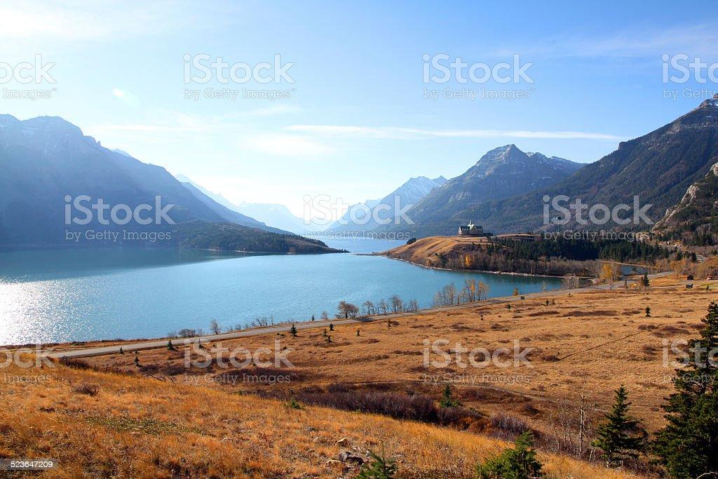 Lake Valley stock photo