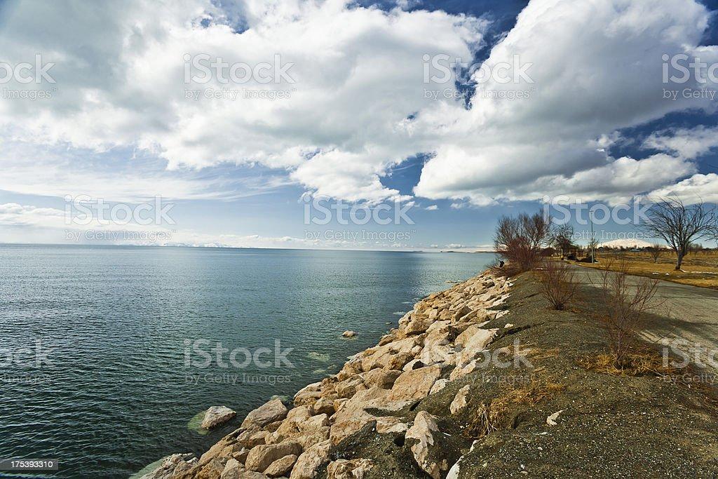 Lake Van stock photo