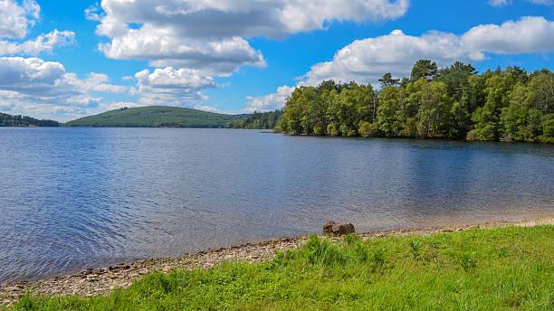 Lake Vassiviere stock photo