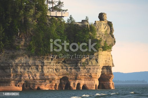 136169151istockphoto Lake View of Miners Castle at Pictured Rocks National Lakeshore 148849634