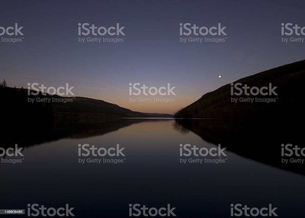 Lake Vyrnwy stock photo