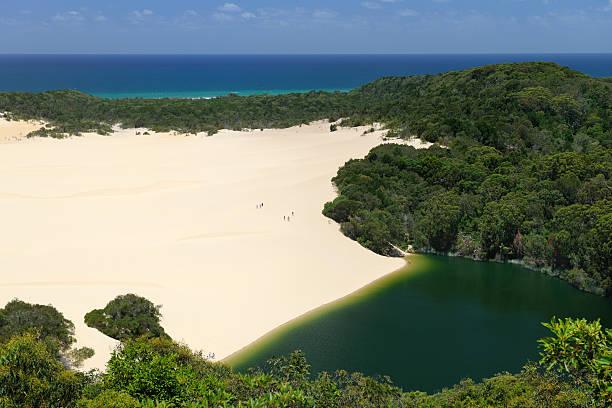 Lake Wabby, Fraser Island, Australia (XXXL) stock photo