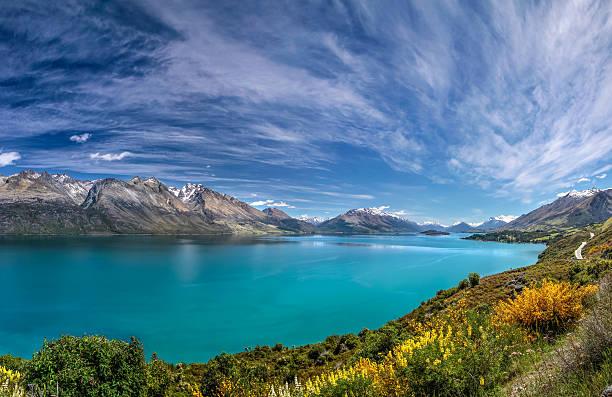 See Lake Wakatipu zwischen Queentown und Glenorchy – Foto