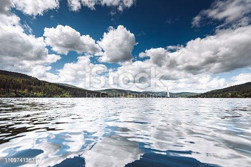 lake waterfront in baden wurttemberg