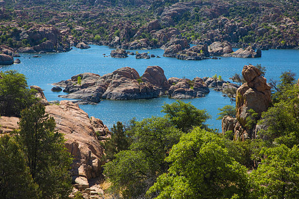 Lake Watson Arizona stock photo