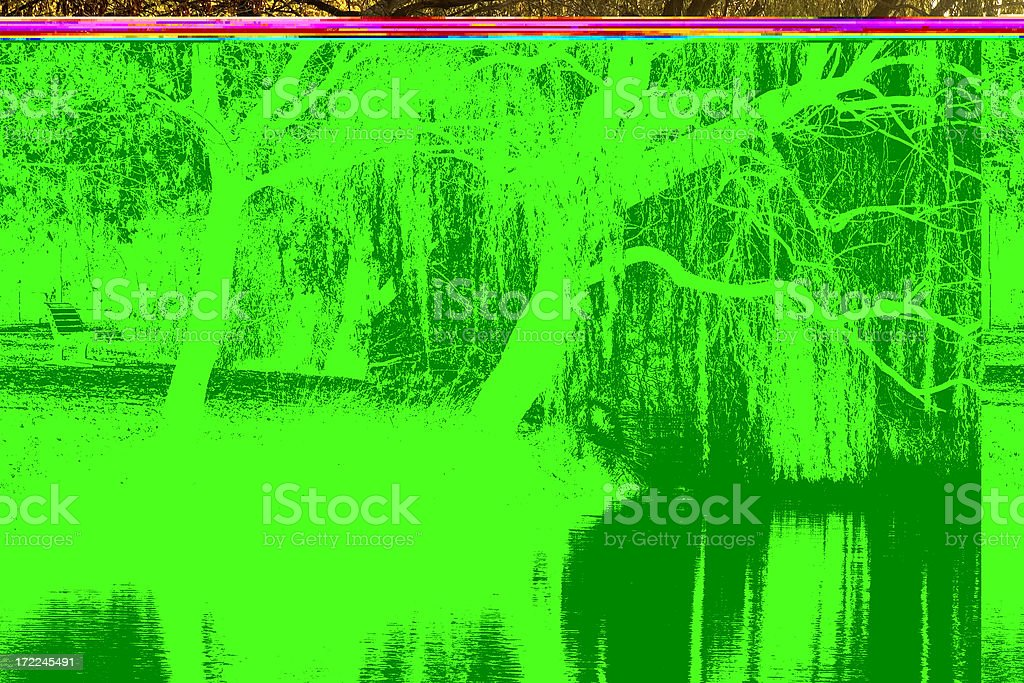 Lake Weeroona Reflection stock photo