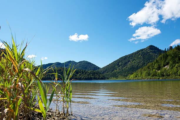 Lake Weitsee in den Bayerischen Alpen – Foto
