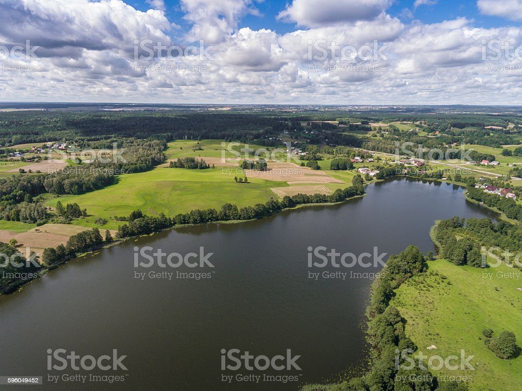 Lake Wigry National Park. Suwalszczyzna, Poland. royalty-free stock photo
