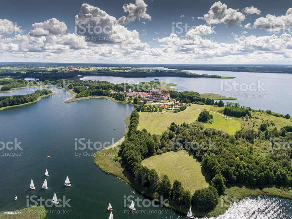Lake Wigry National Park. Suwalszczyzna, Poland. royalty-free stock photo