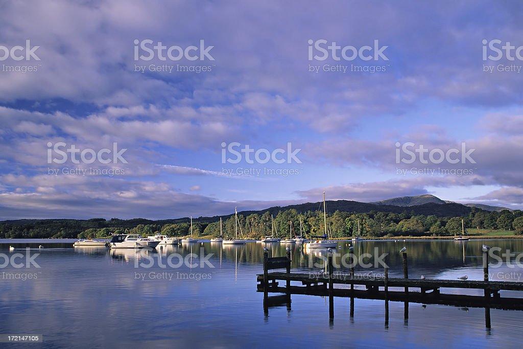 Lake Windermere royalty-free stock photo
