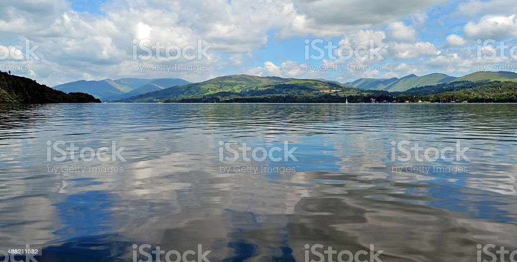 Lake Windermere. stock photo