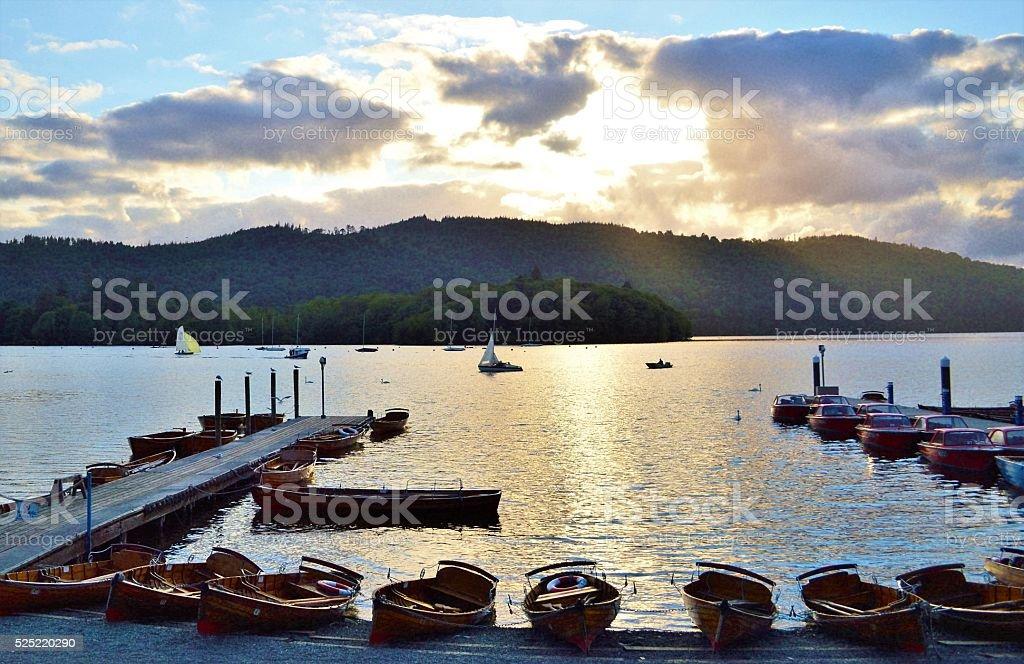 Lake Windermere an. – Foto