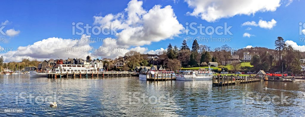 Lake Windermere stock photo