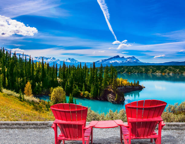 Lac aux eaux turquoises - Photo