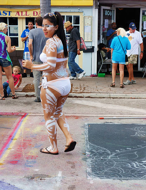 Lake Worth Straßengemälde Festival – Foto
