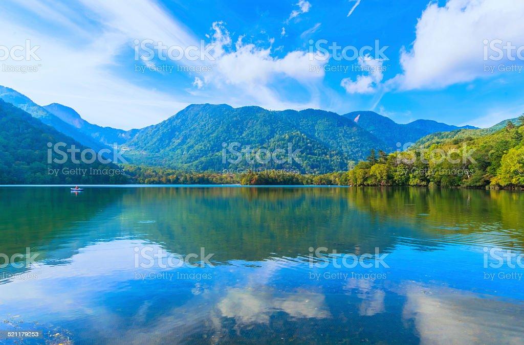 Yunoko 湖 ストックフォト