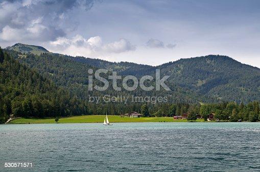 istock Lakefront near Achenkirch am Achensee, Tirol, Austria 530571571