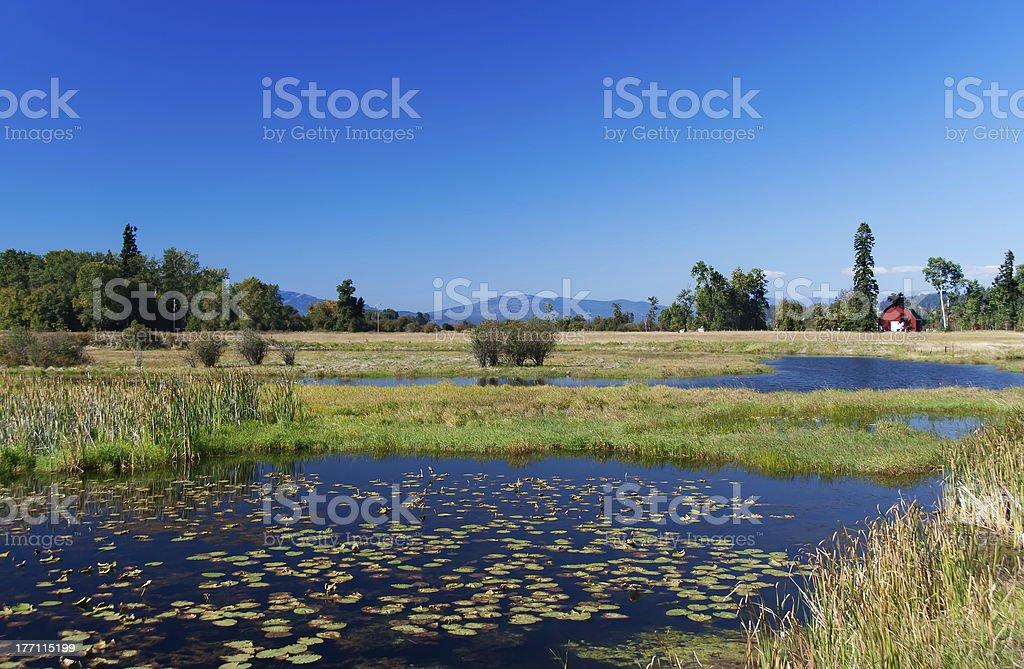 Lakeland in Montana, USA stock photo