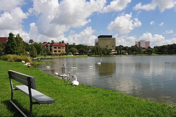 Lakeland Scene stock photo