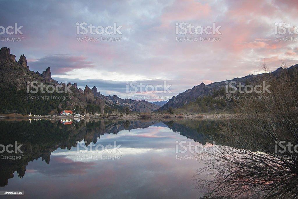 7 lakes drive royalty-free stock photo