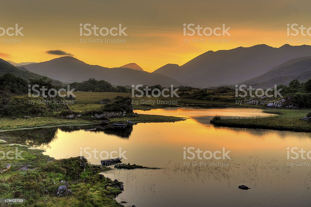Lakes of Killarney stock photo