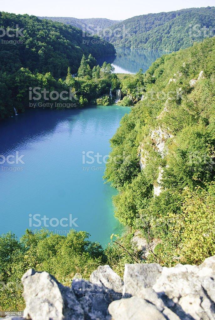 Lakes of Plitvice - Croatia royalty-free stock photo