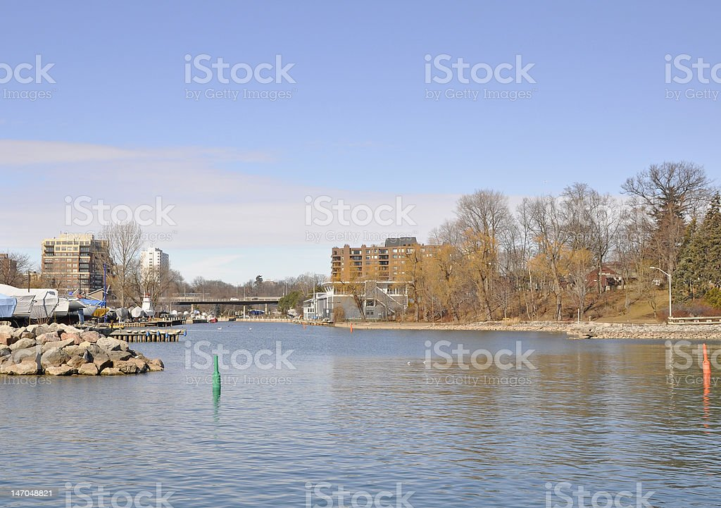 Lakeshore Oakville stock photo