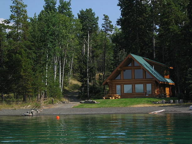 Lakeside Cabin 2  passenger cabin stock pictures, royalty-free photos & images