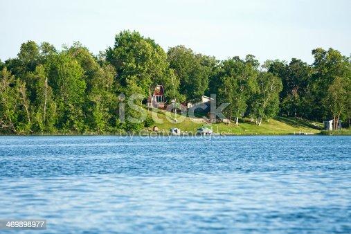 876420064 istock photo Lakeside Cabins 469898977