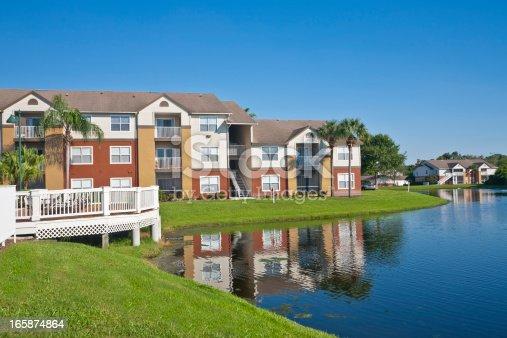 istock Lakeside Condominiums 165874864