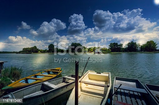 Lakeside in the evening, europe, hungary, Szelid