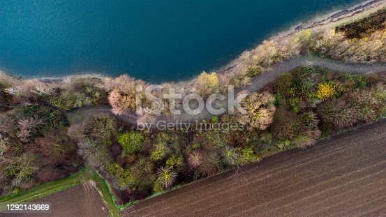 Lakeside, lakefront - aerial view