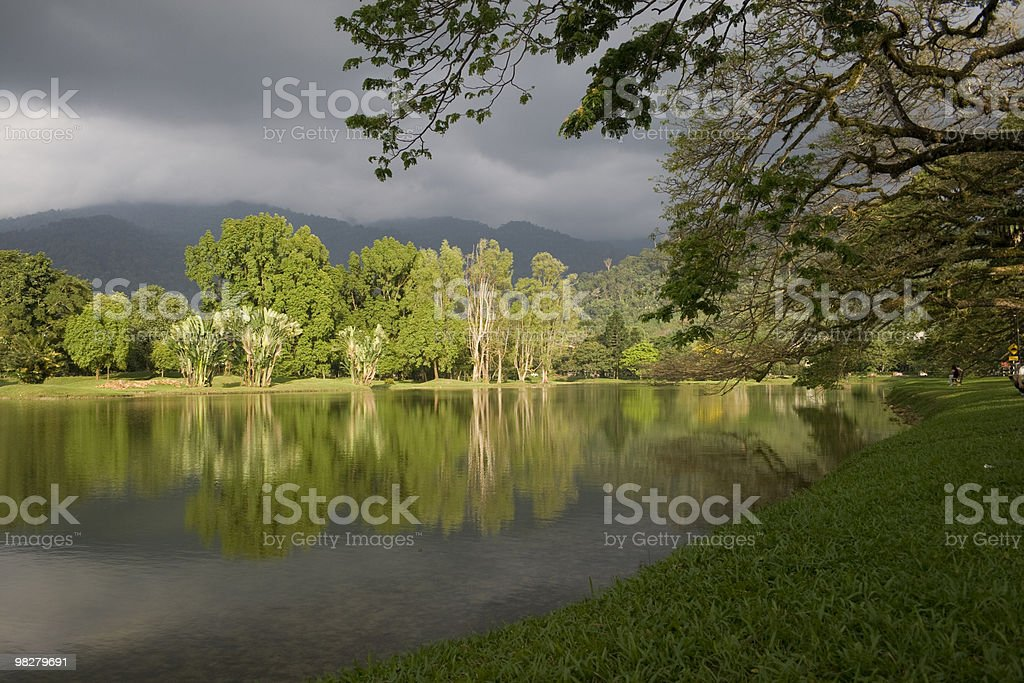 Lakeside foto stock royalty-free