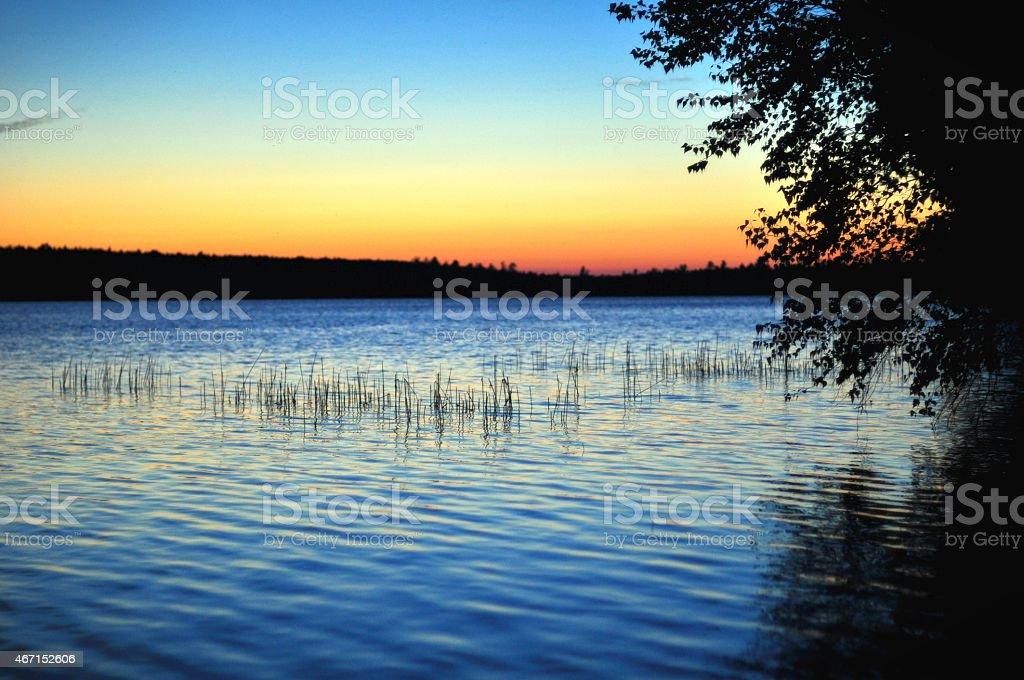 Lakeside Sonnenuntergang – Foto