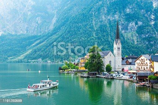 Hallstatt, Austria, Europe, Salzkammergut, Church