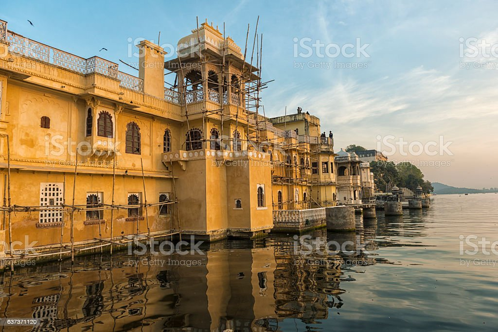 Lal Ghat, Udaipur India stock photo