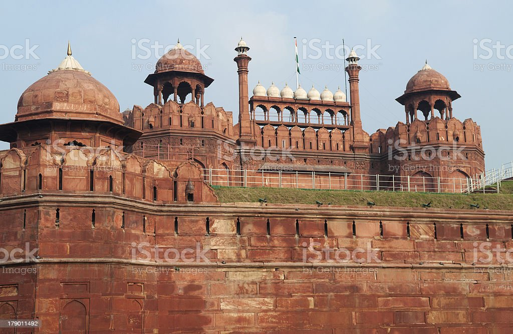 Lal Qila - Red Fort stock photo