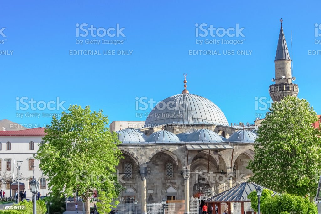 Lala Mustafa Pasha moskee in Erzurum, Turkije - Royalty-free Architectuur Stockfoto