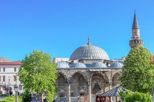 Lala Mustafa Pasha Moskee In Erzurum Turkije Stockfoto en meer beelden van Architectuur