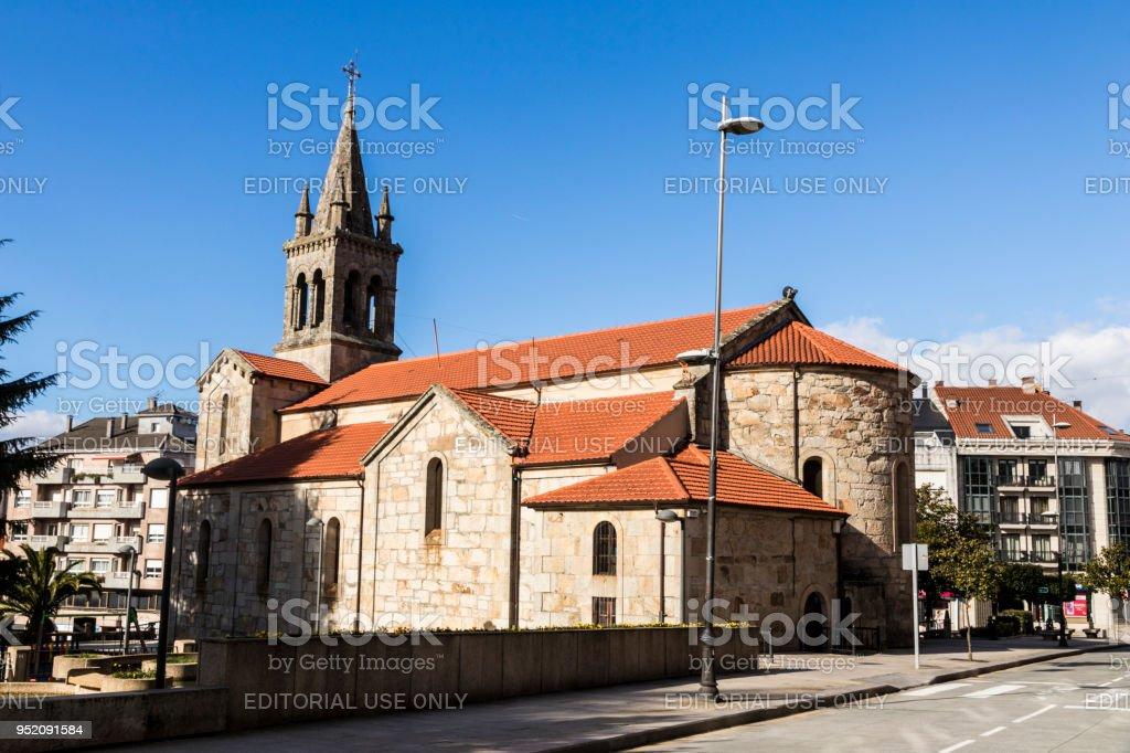 Lalin, Spain stock photo